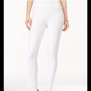 Michael Kors white leggings skinny knit pants
